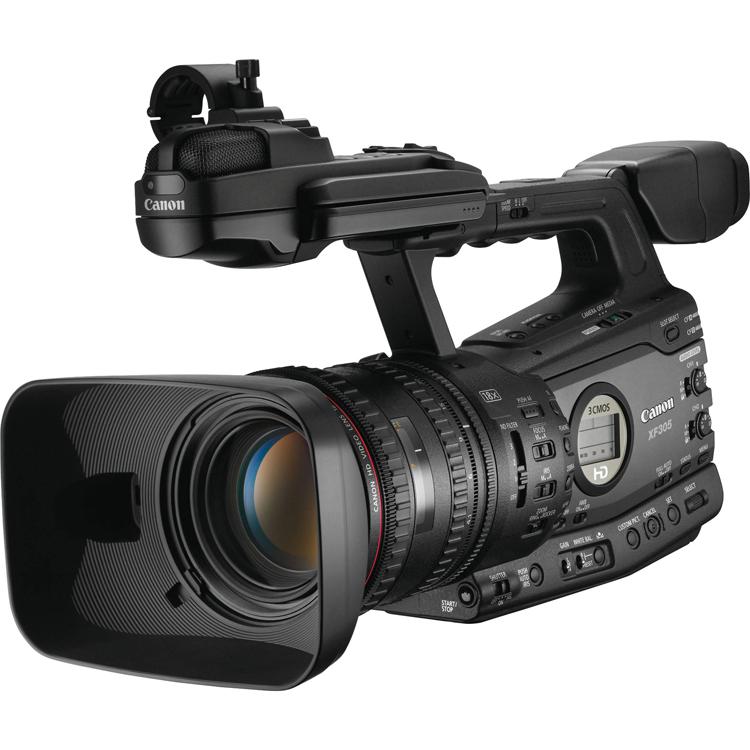 フルハイビジョンビデオカメラ(XF-305)